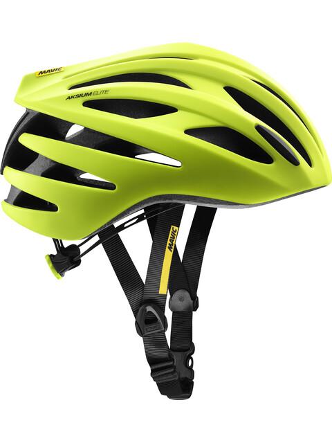 Mavic Aksium Elite Helmet Safety Yellow/Black